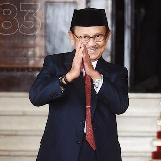 BJ Habibie Wafat, Indonesia Berduka