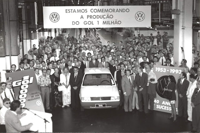 Volkswagen Gol 1000 - produção
