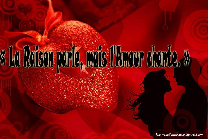 Citations d'amour célèbres ~ Mot d'amour Phrase d'amour Lettre d ...