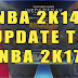 NBA 2K14 UPDATE TO 2K17