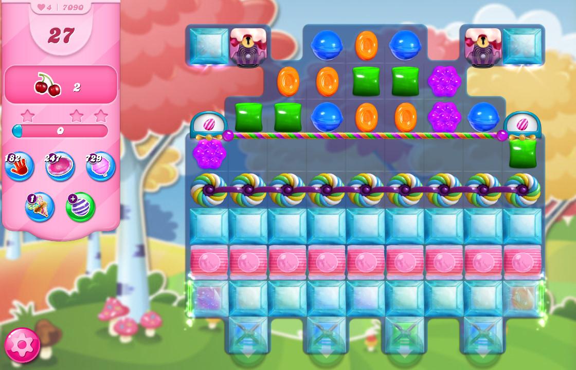 Candy Crush Saga level 7090