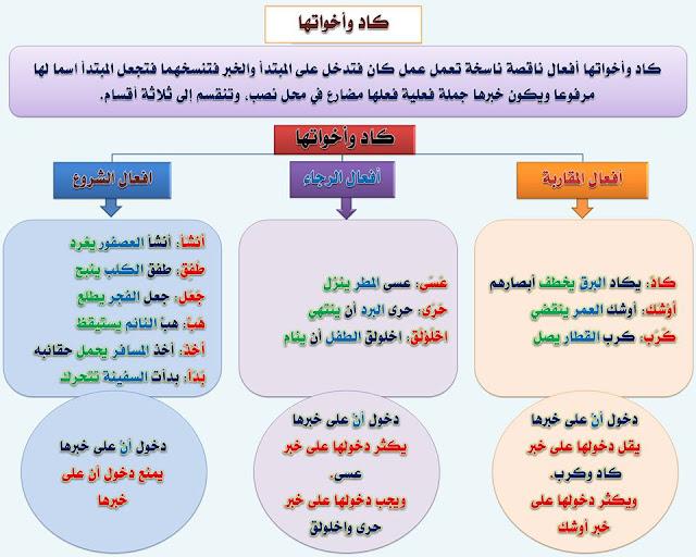 """انفراد.... كل قواعد اللغة العربية لطلاب """"ابتدائي - اعدادي - ثانوي"""" في صورة لوحات مبسطة مع الشرح والتدريبات 74"""
