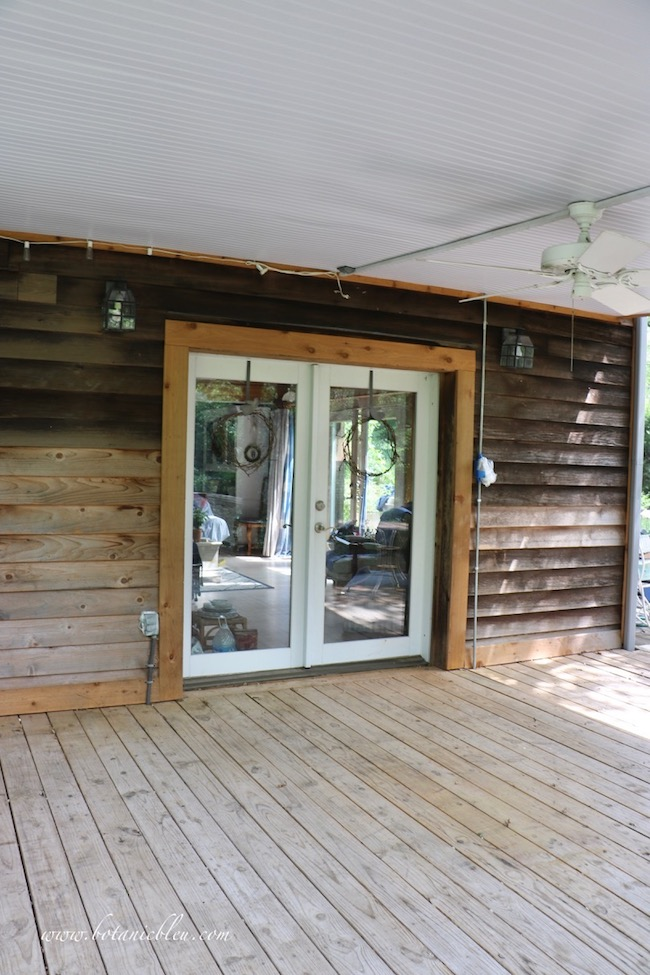 The first step to get your porch or deck ready for summer is to remove everything to thoroughly clean