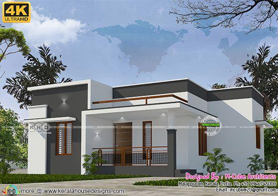 Single floor ultra HD house rendering