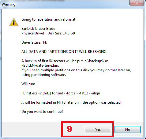 Cara membuat multi bootable usb windows tahap 3