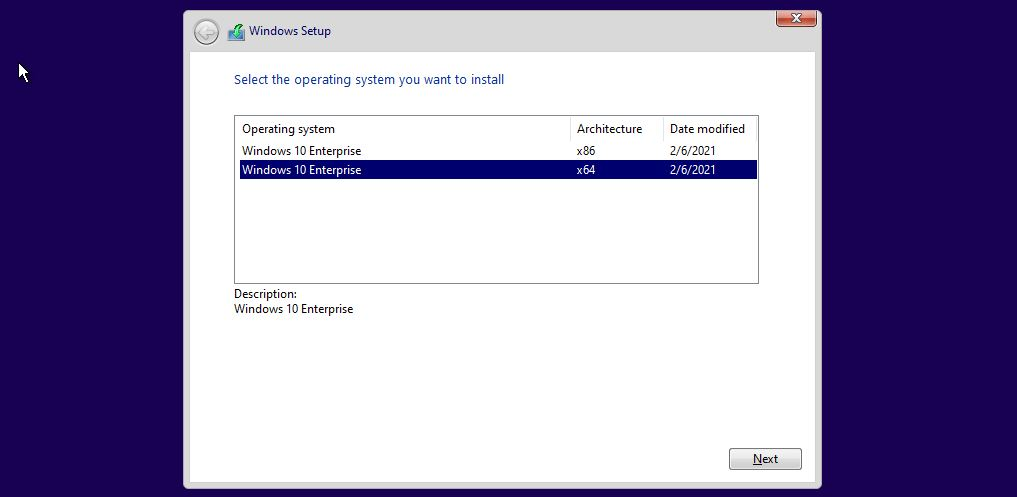 Windows 10 Enterprise Full ISO