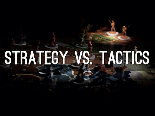Business Strategy vs Business Tactics