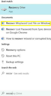 How to Recover Misplaced Lost File on Windows PC