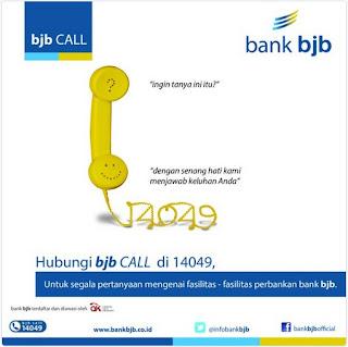 cara mudah menghubungi bank BJB
