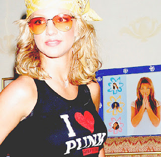 Britney Spears I Heart Punk shirt.  PYGear.com