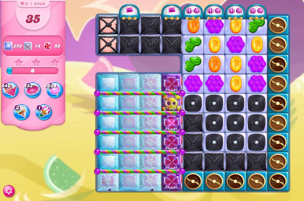Candy Crush Saga level 9946