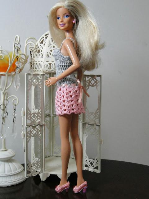 Vestidinho de Crochê Para Barbie 5