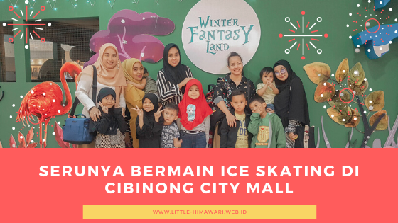 ICE SKATING CIBINONG CITY MALL