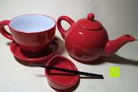 Erfahrungsbericht: Porzellan Teekannenservice von Original First Tea (Rot)