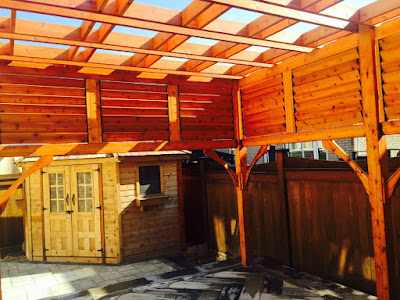 Burlington Pergola Renovation