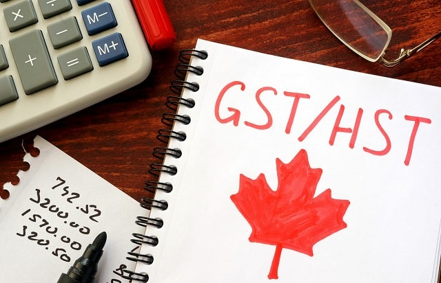 charging hst ontario harmonized sales tax canada gst taxes