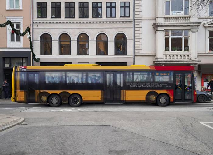 Social advertising against drunk driving, Copenhagen