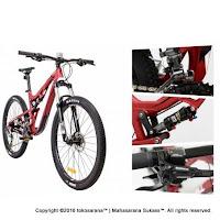 Thrill Ricochet 5.0 Sepeda Gunung 27.5 Inci 2016