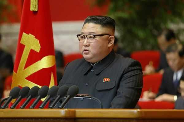 Kim Jong Un concludng speech at 8th WPK Congress, January 12, 2021
