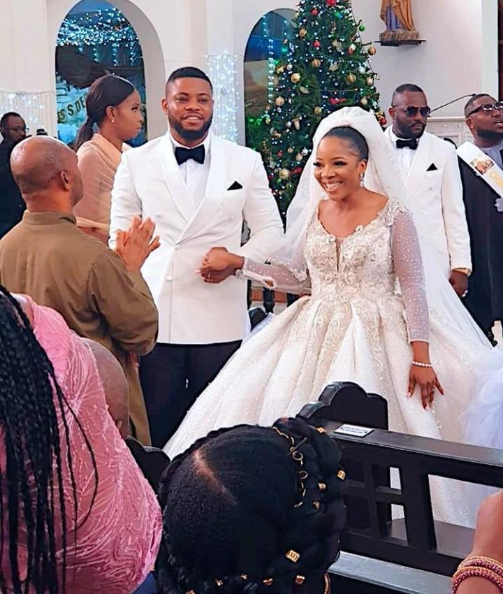 Sandra Ikeji and Husband