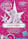 My Little Pony Wave 17 Lilac Links Blind Bag Card