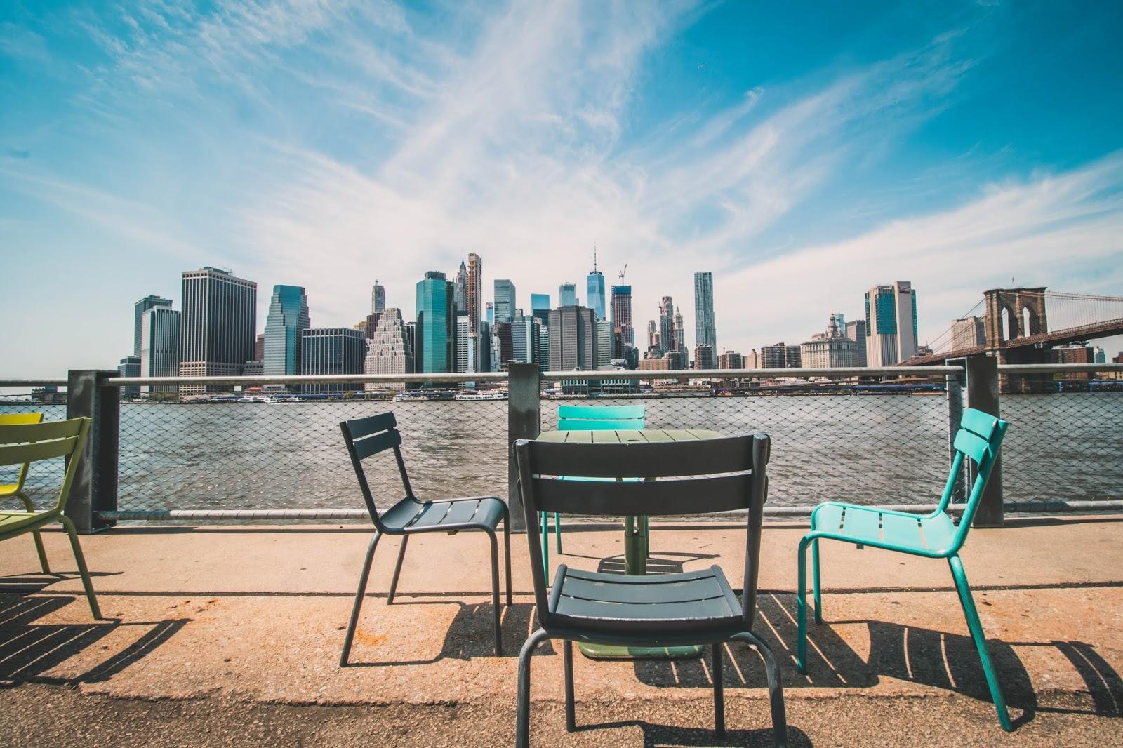 Brooklyn Heights promenade visite