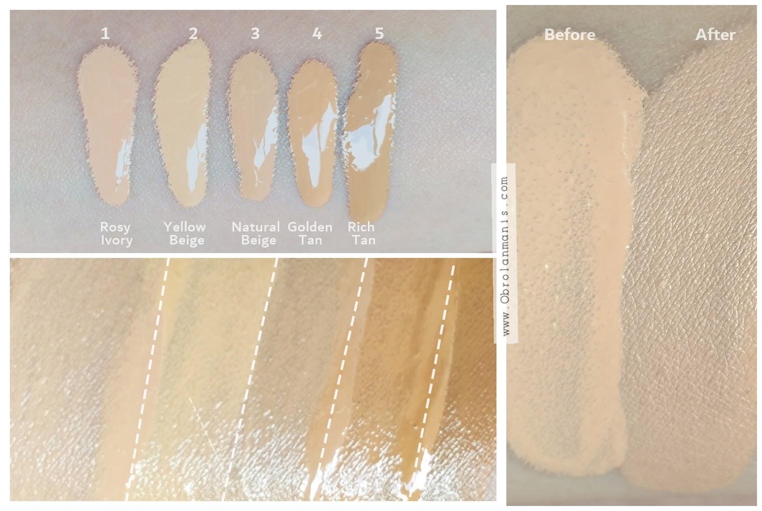 Tips memilih warna foundation, shades Pixy Stay Last Serum