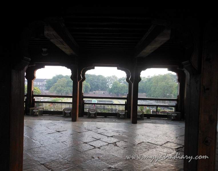 A chamber at Shaniwar wada fort, Pune