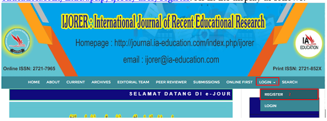 Panduan Submit Artikel di Open Journal System (OJS)