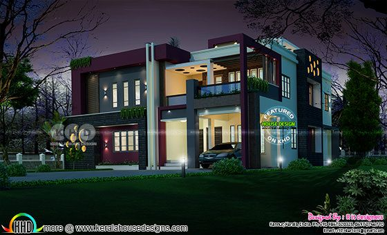 Stunning luxury contemporary house with 5 bedrooms