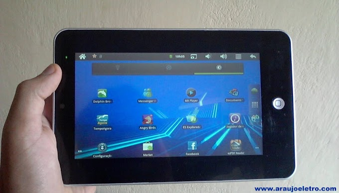 "Review Tablet Mid tela 7"" Android 2.3, Wi-Fi, 3g"