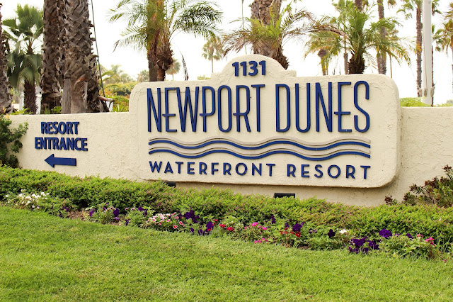 Newport Dunes Waterfront Resort Sign