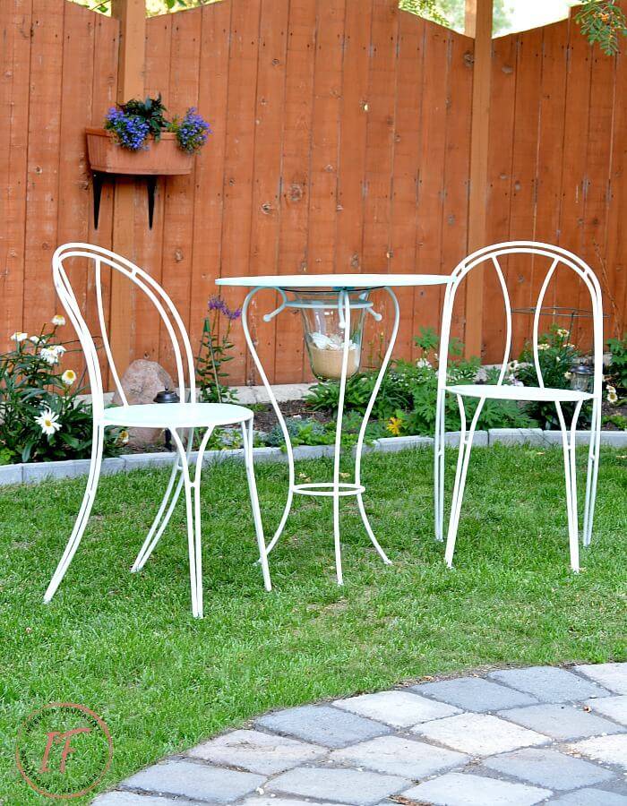 DIY Bistro Dining Set Cafe Table And Chairs