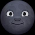 Arti Emoji Bulan Gosong (FB)