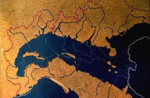 L'italia del passato, evoluzione del territorio