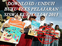 DOWNLOAD / UNDUH BUKU TEKS PELAJARAN SISWA KURIKULUM 2013 JENJANG SD / MI