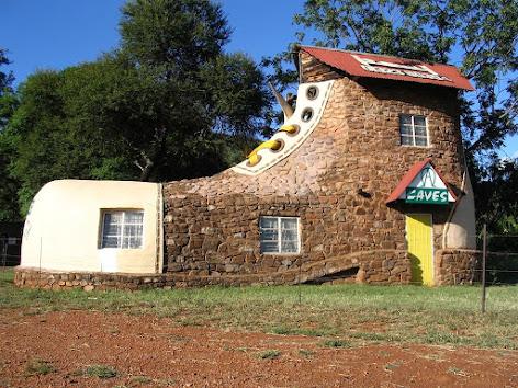 Ngôi nhà hình chiếc ủng , Nam Phi