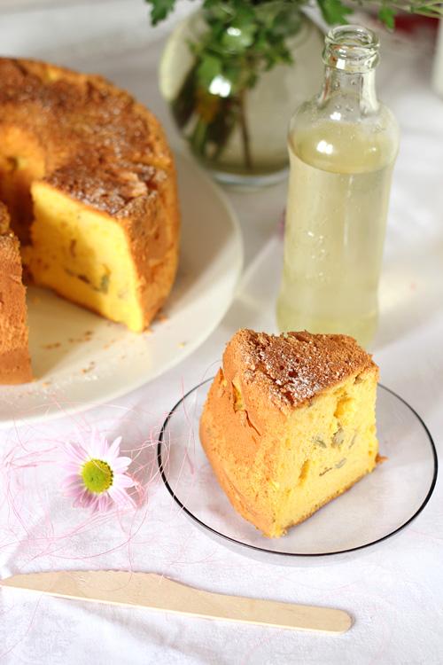chiffon cake - dyniowe ciasto szyfonowe