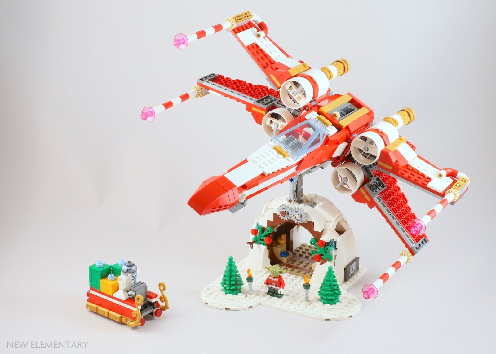 Lego Exclusive Christmas Set 2020 LEGO® Employee Gift 4002019 Christmas X Wing: Build Your Own | New