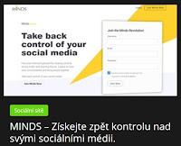 MINDS – Získejte zpět kontrolu nad svými sociálními médii. - AzaNoviny.eu