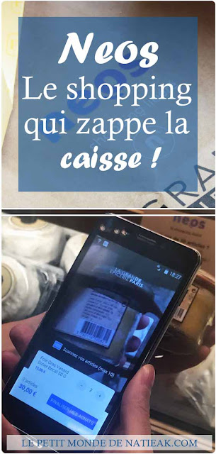 Neos : l'application pour faire son shopping sans passer en caisse !