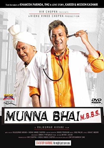 Poster Of Munna Bhai M.B.B.S. 2003 480p Hindi DVDRip Full Movie Download