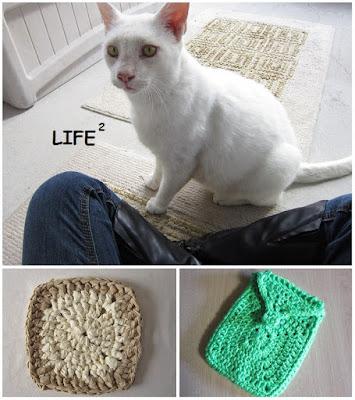 crochet, cats, Anderson, Granny Square, Granny-Spiration Challenge 2017