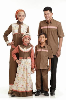 Model Baju Batik Sarimbit Keluarga