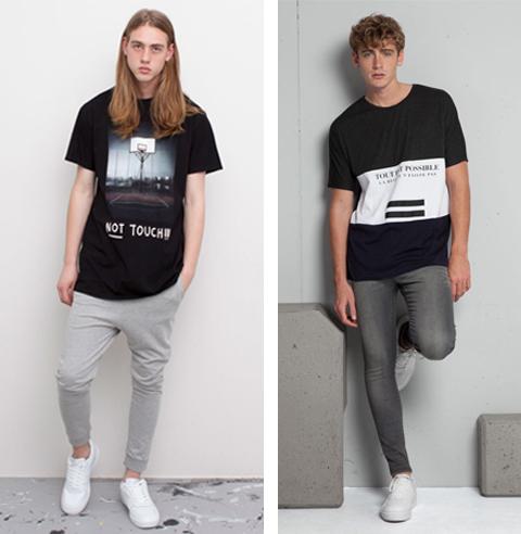contoh baju kaos pria terbaru