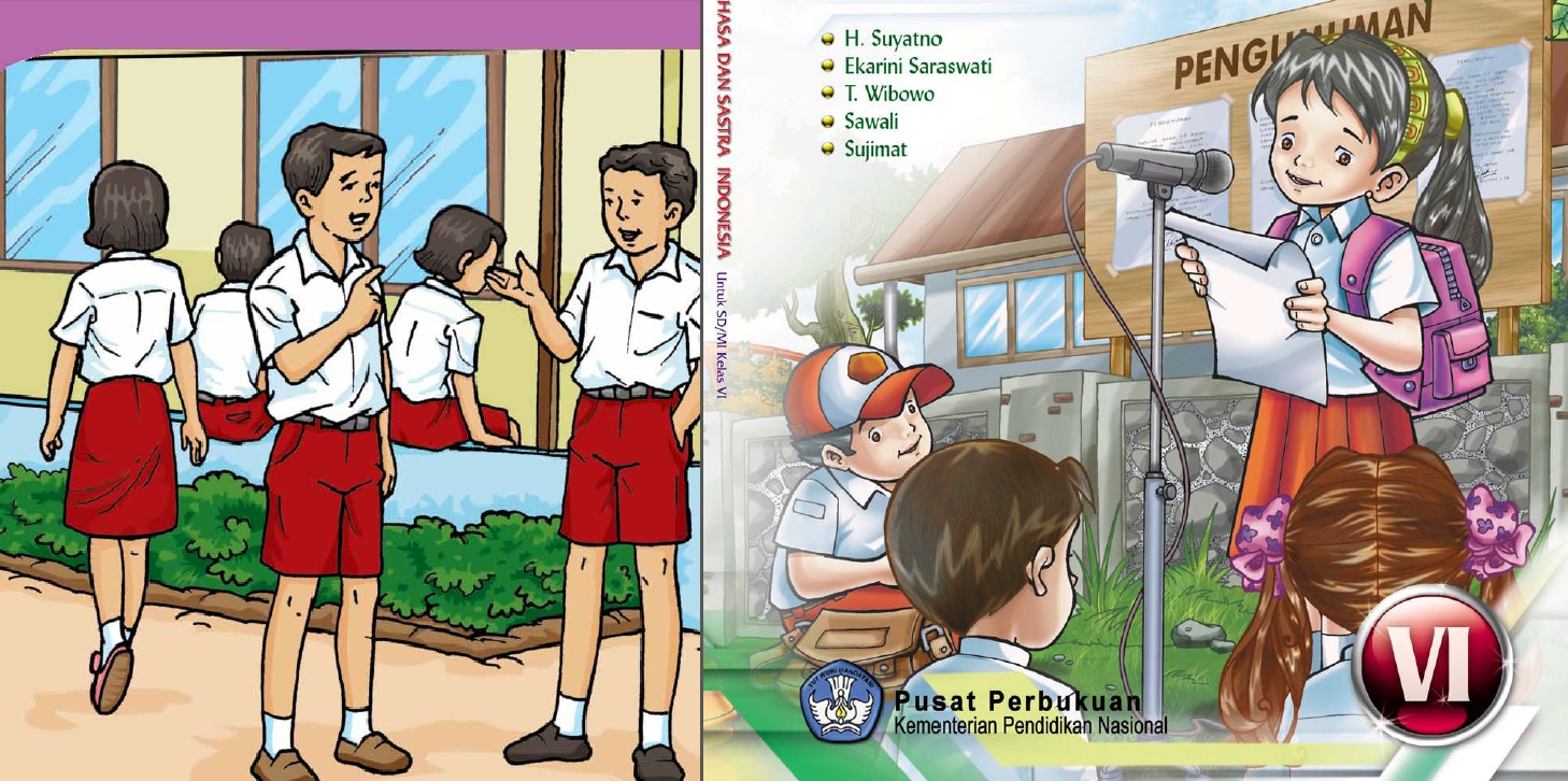 Download Buku Sekolah Elektronik (BSE) Untuk Sekolah Dasar Kelas VI (Enam)