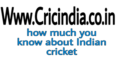 Who much you know about Indian cricket