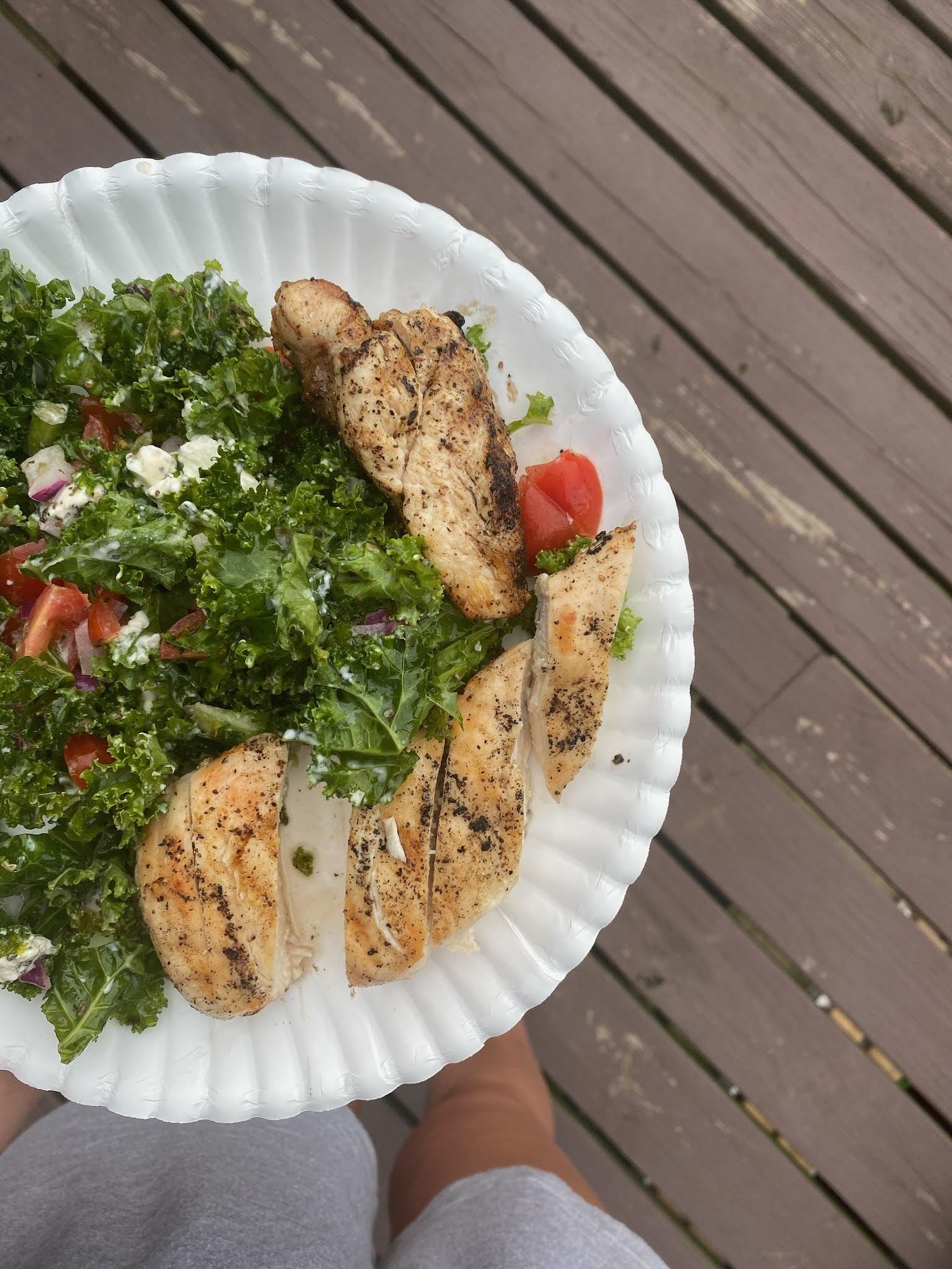 Summer Salad | biblio-style.com
