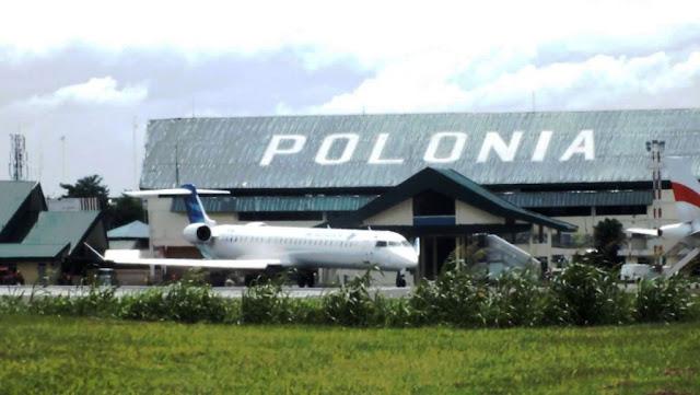 bandara polonia medan