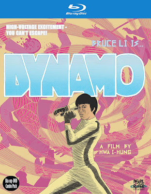 Cover art for VCI's Blu-ray release of DYNAMO!